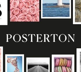 Posters by Posterton: Halva priset vid köp för minst 399:-