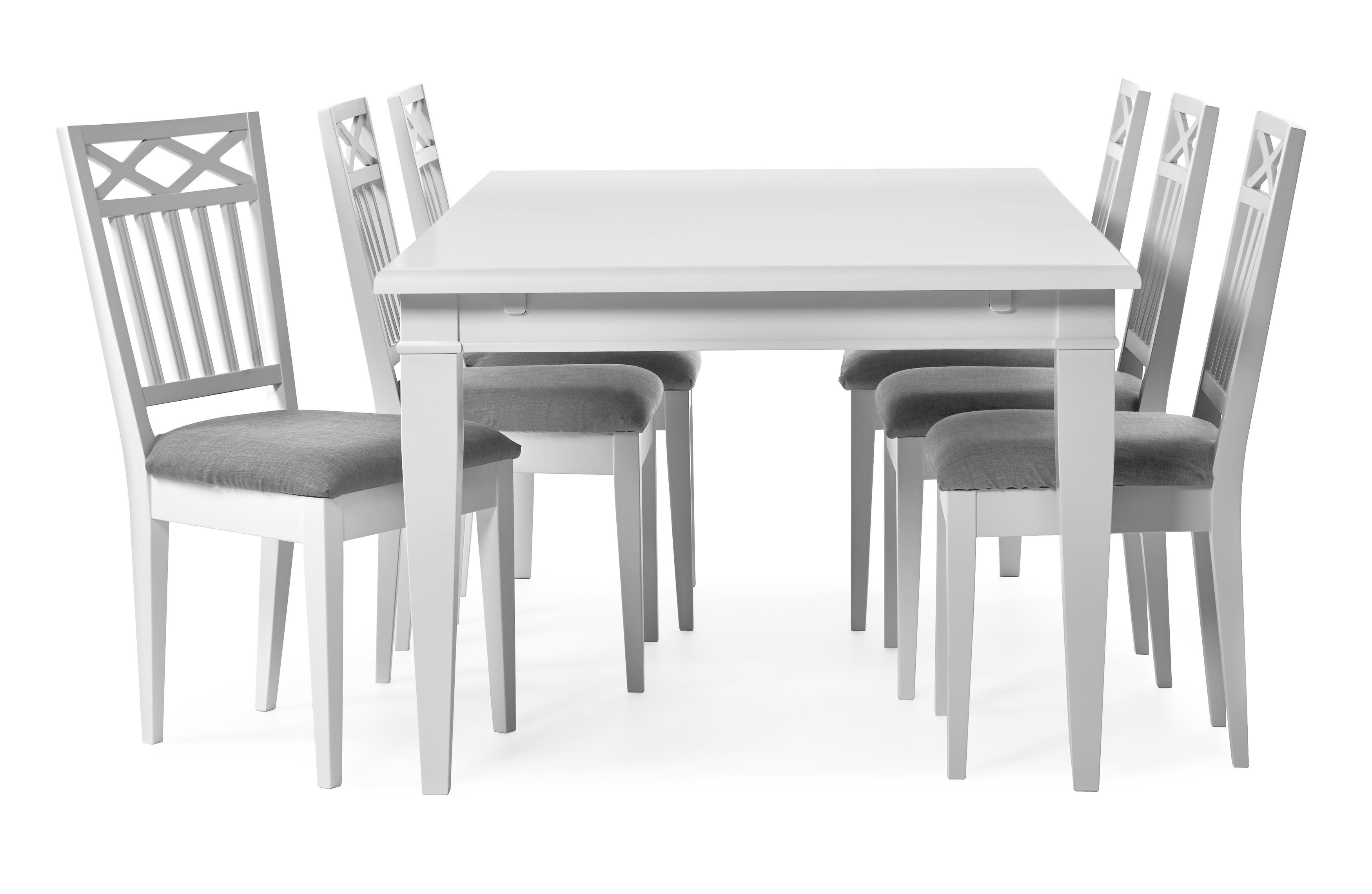 Wilma Matgrupp med 6 stolar
