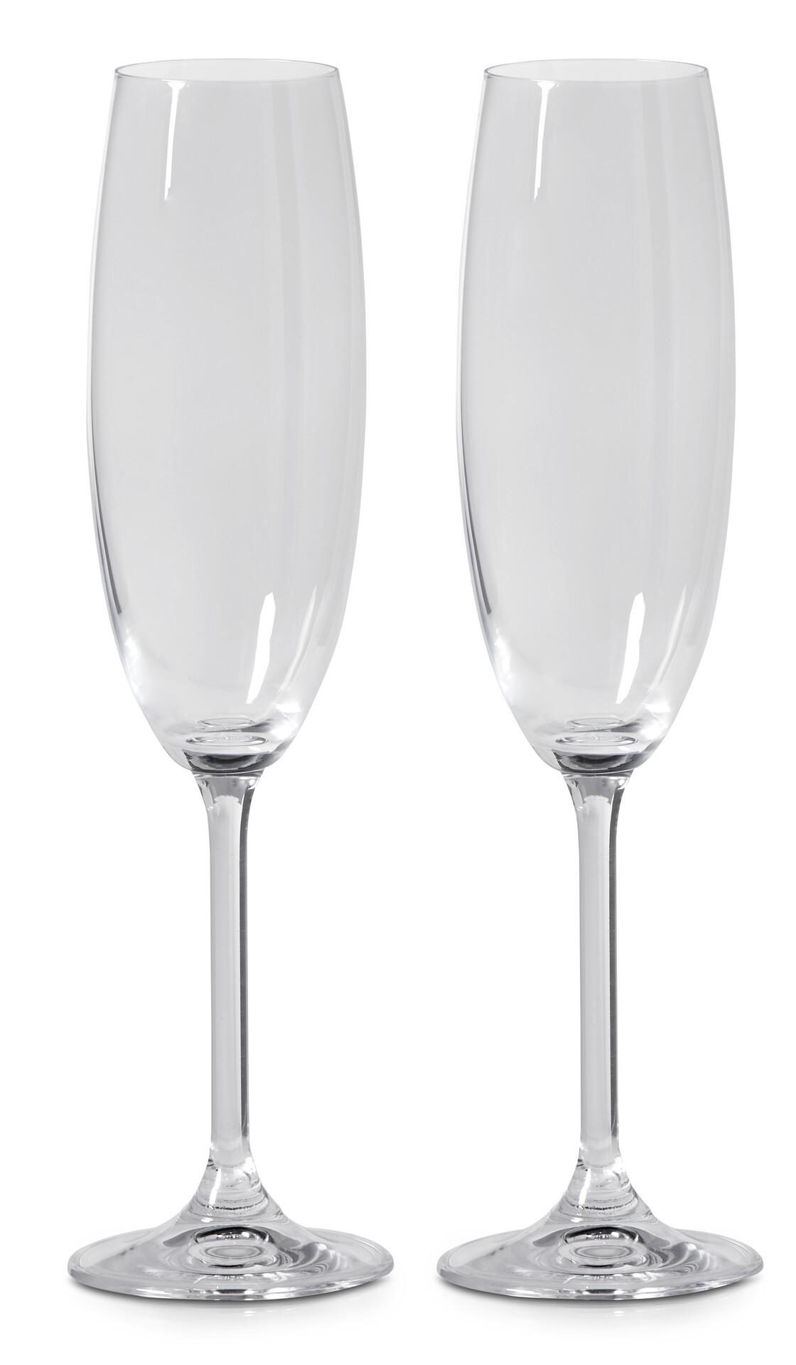 Nice Bitz Champagneglas, 2-pack | Glas/Porslin/Husgeråd | Mio QU32
