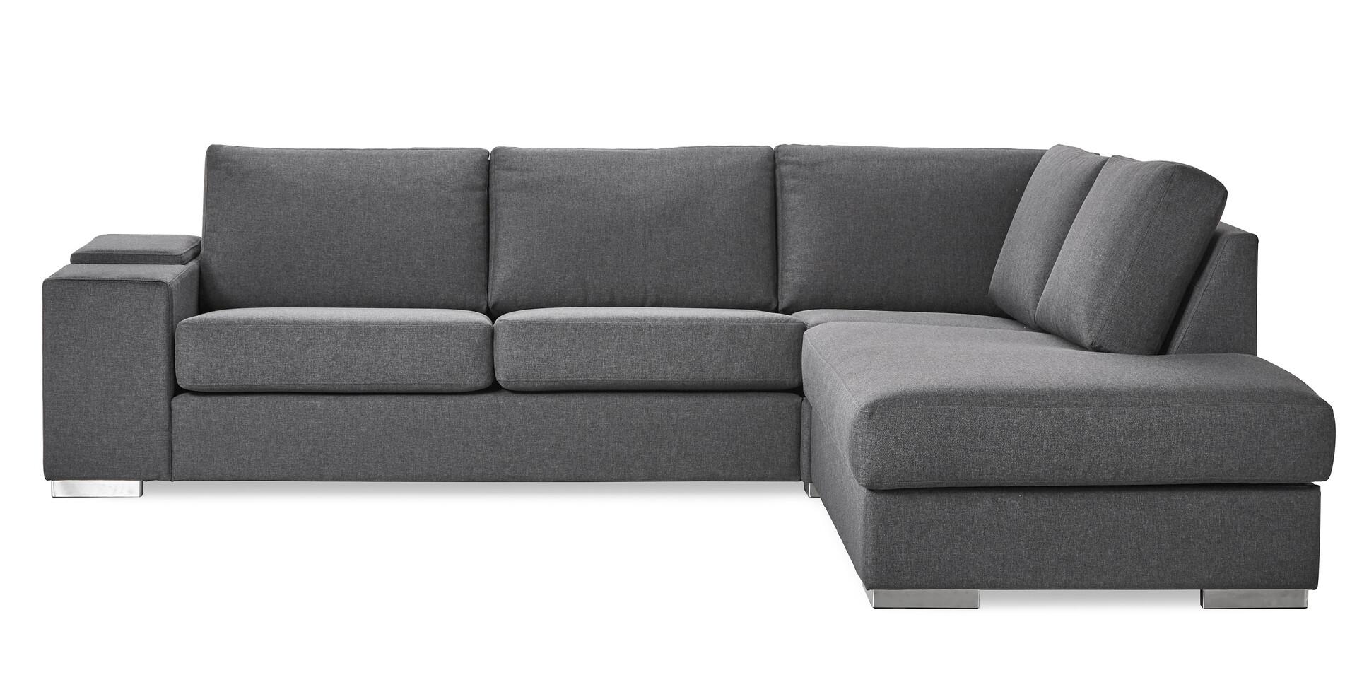 Splitter nya Modern Living 3-sits soffa med divan höger | Soffa | Mio NN-74