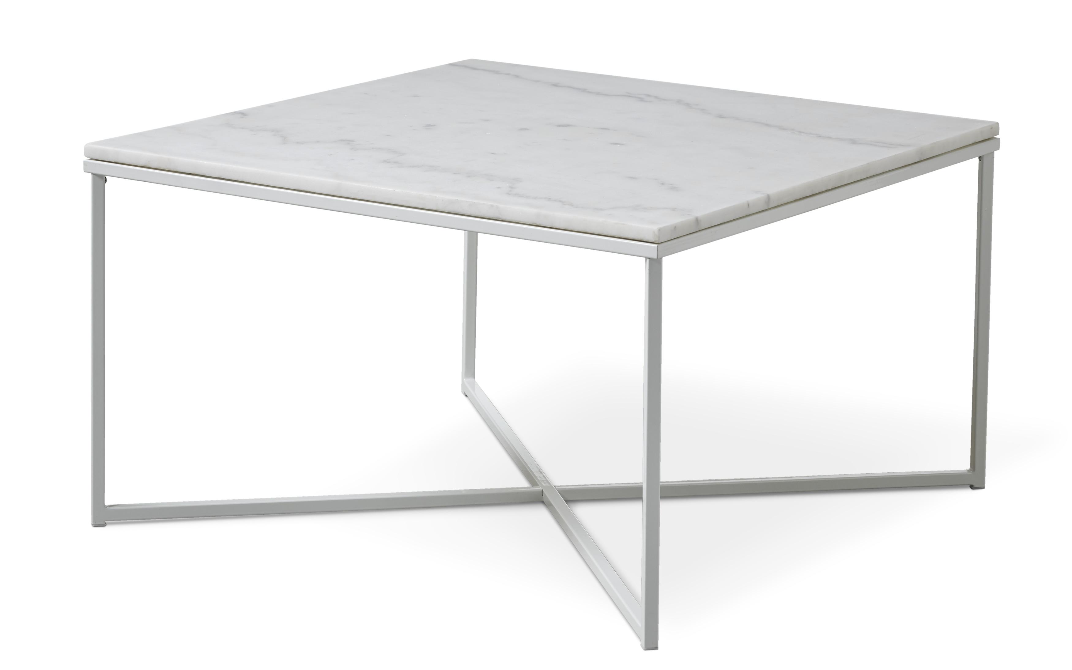 Novali Soffbord, L 80 cm | Soffbord | Mio | Soffbord, Vit