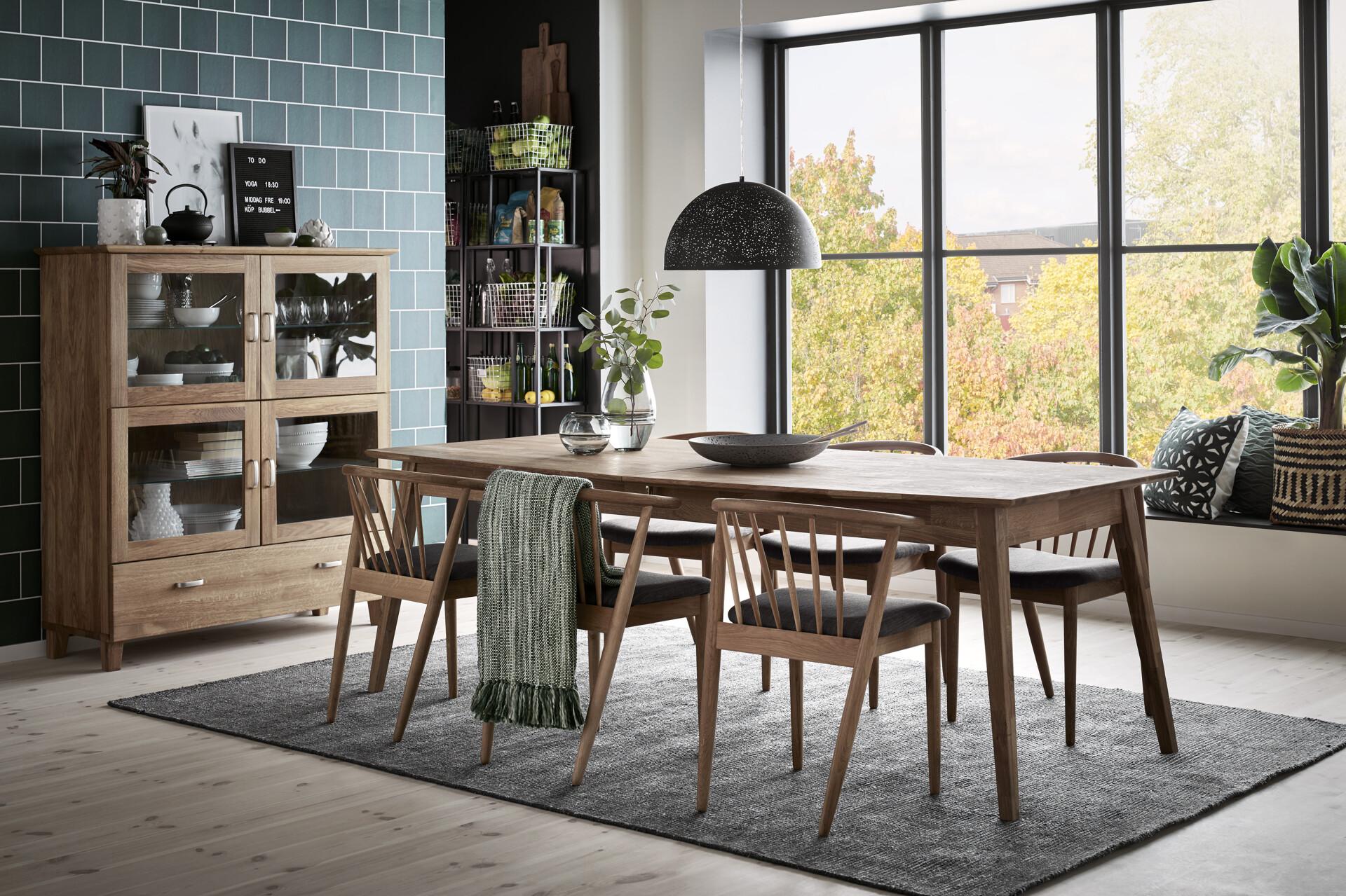 mio möbler köksbord och stolar