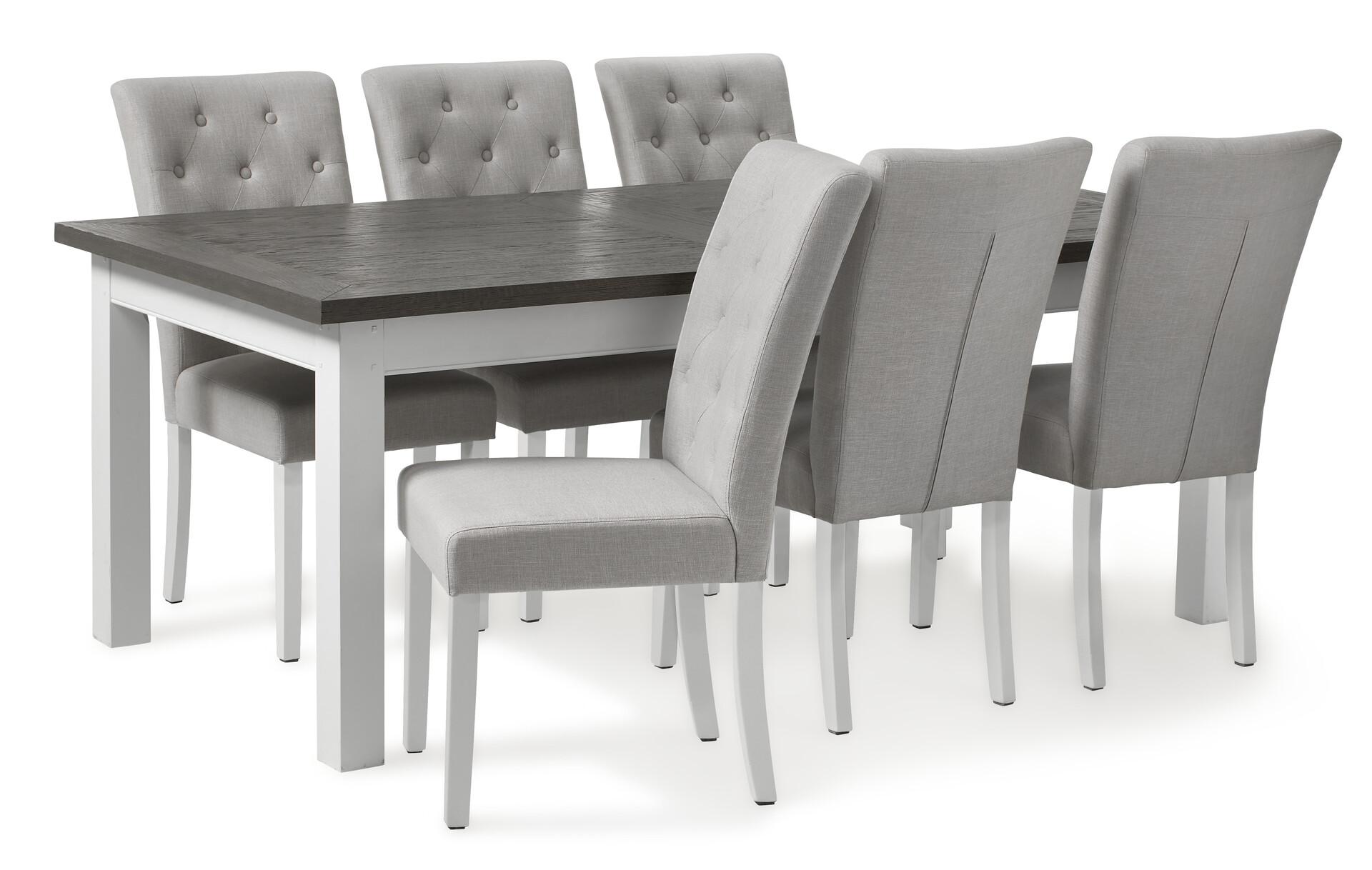 Icke gamla Marstrand Matgrupp med 6 stolar Josefine | Matbord | Mio UZ-96