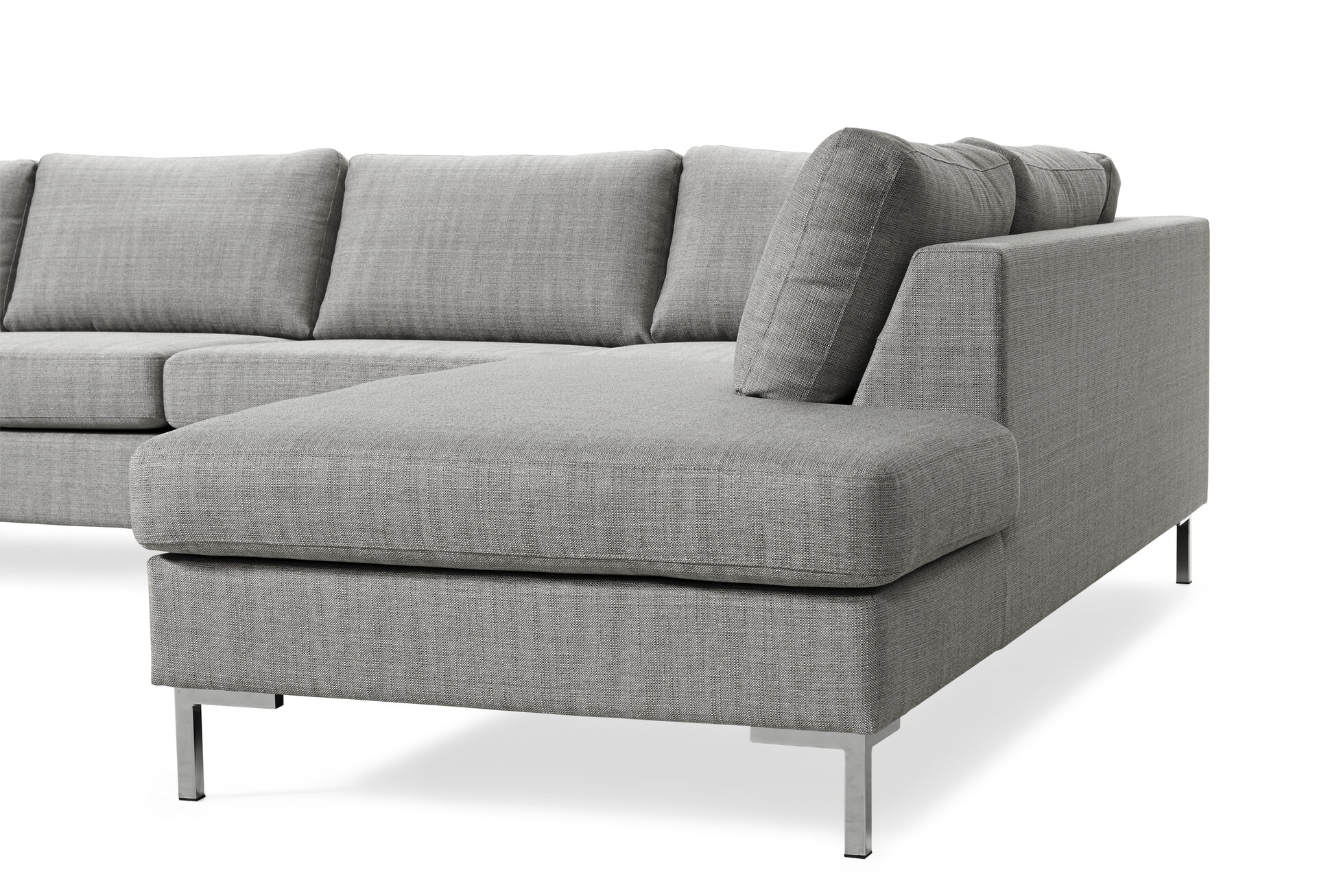 Välkända Toronto 3-sits soffa med schäslong vänster och divan höger | Soffa XK-12