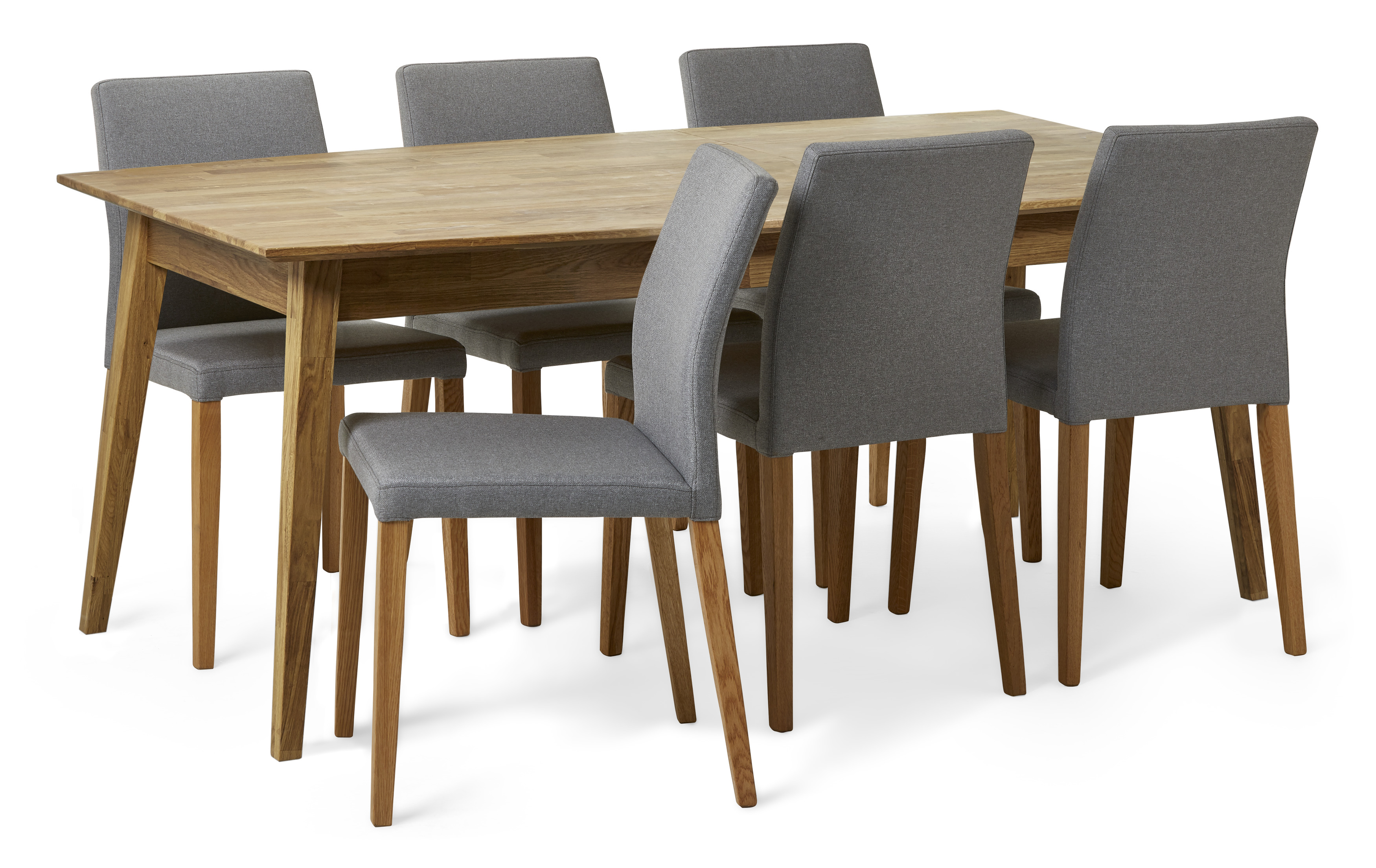 Ekerö Matgrupp med 6 stolar Sixten | Mio | Stolar, Matbord
