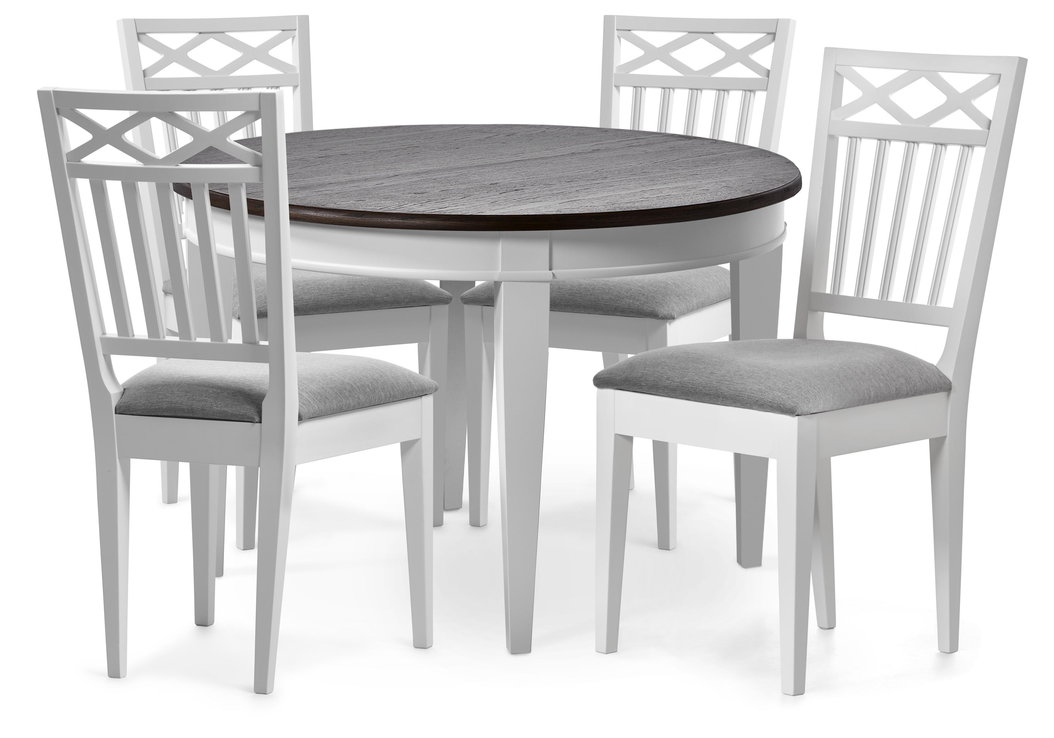 Wilma matbord, 6 stolar + iläggsskiva | Transport, Frakt