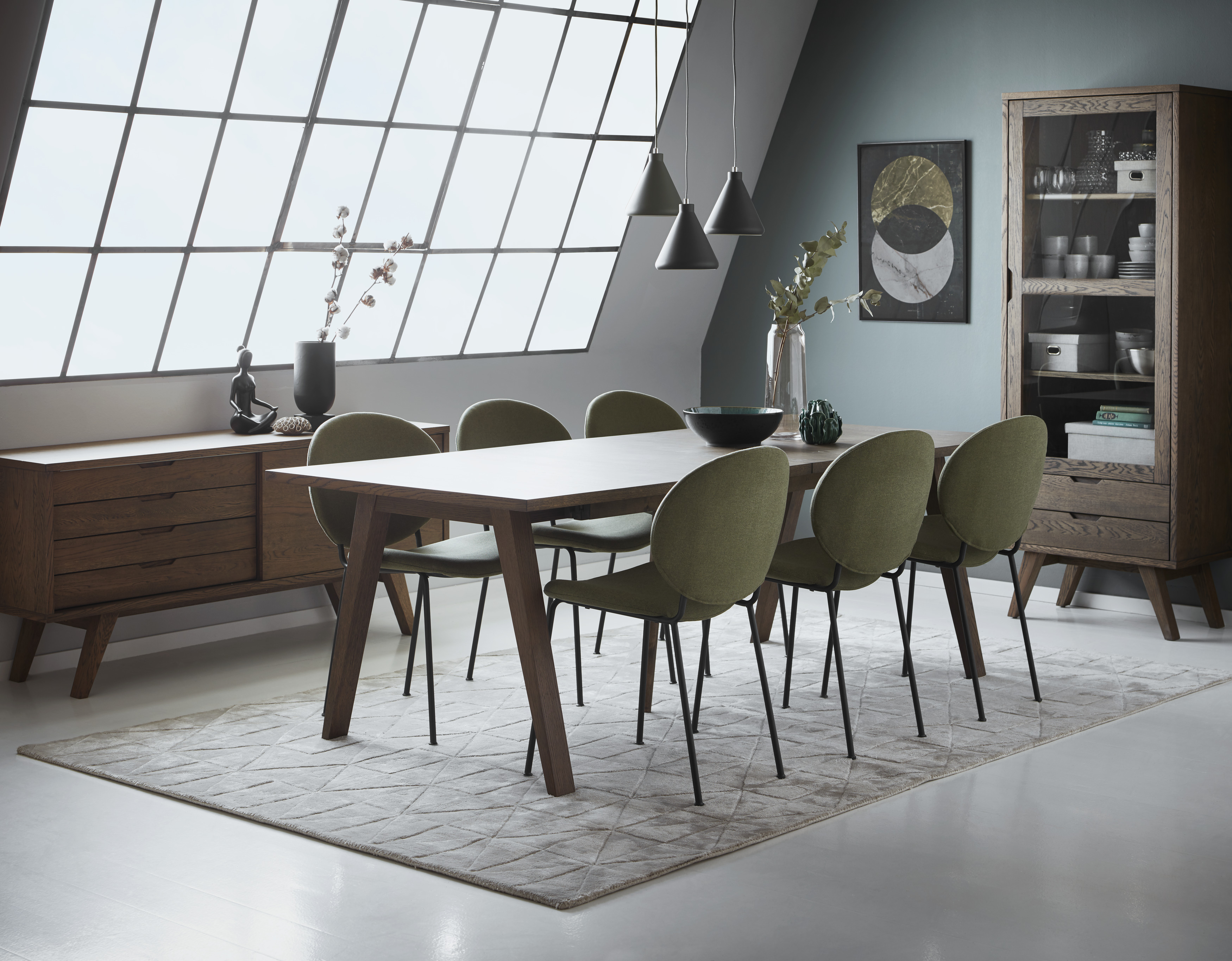 Yard Matgrupp med 6 stolar Ellen | Matbord | Mio | Stolar