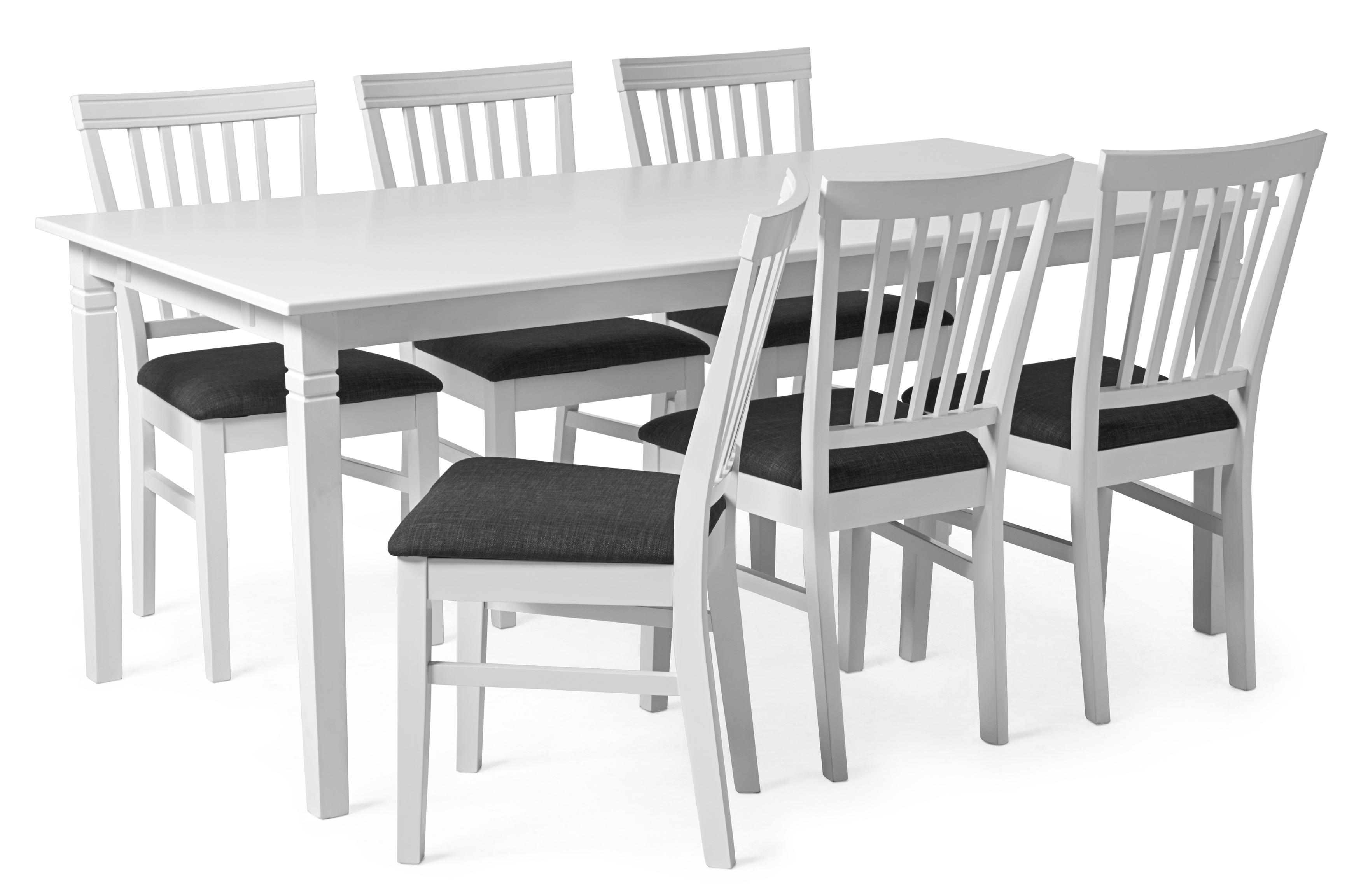 Alice Matgrupp med 6 stolar | Mio | Stolar, Matsalsbord