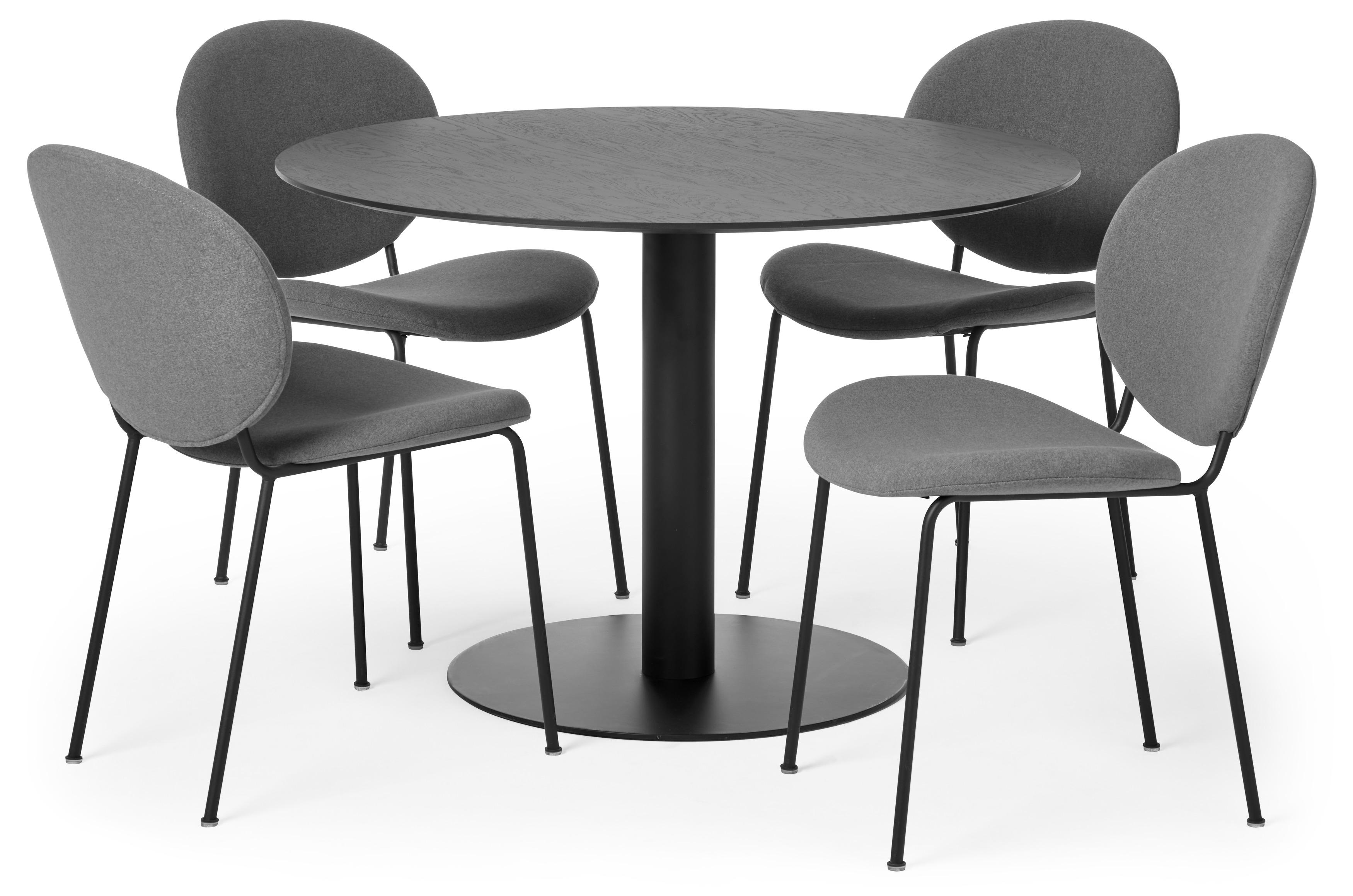 Element Matgrupp med 4 stolar Fanny